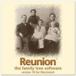 Reunion slektsprogram for Mac